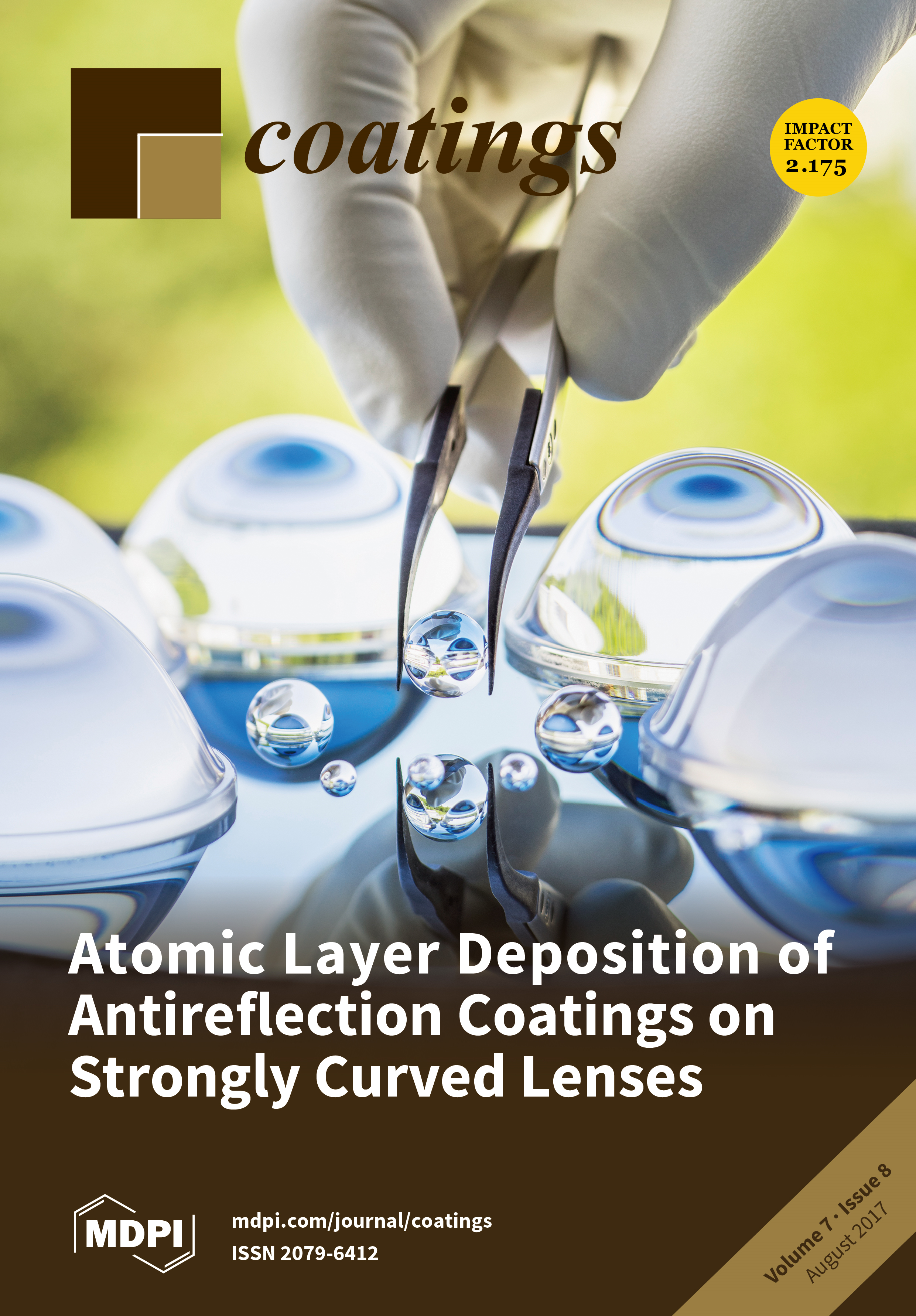 Coatings | August 2017 - Browse Articles