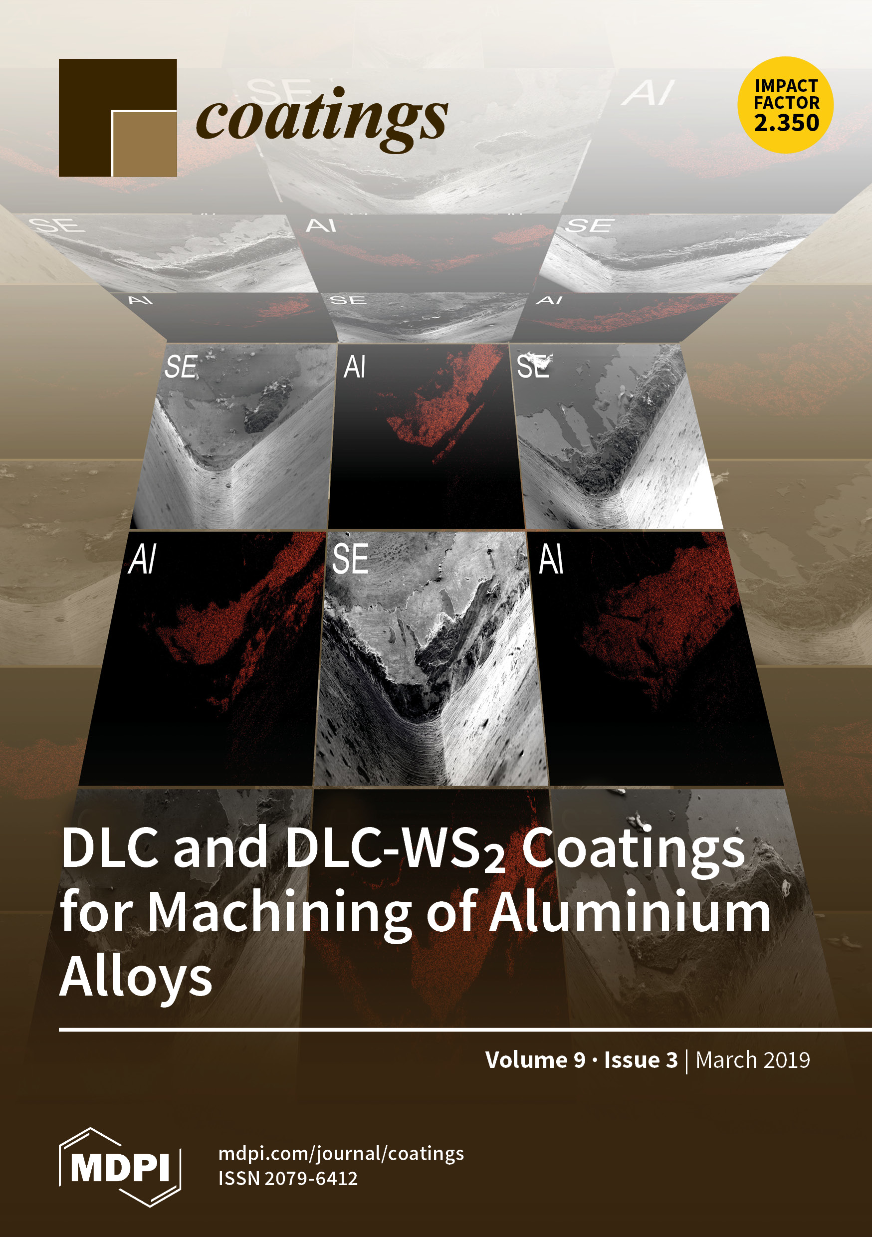 Coatings   March 2019 - Browse Articles