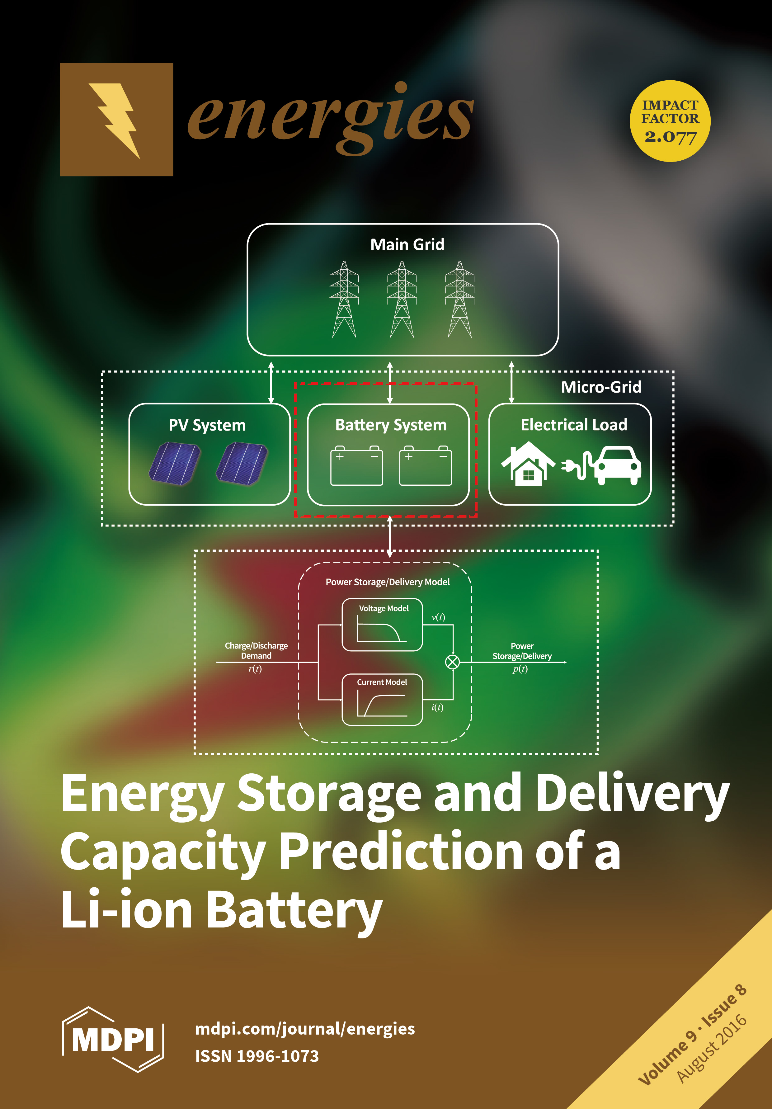 Energies August 2016 Browse Articles