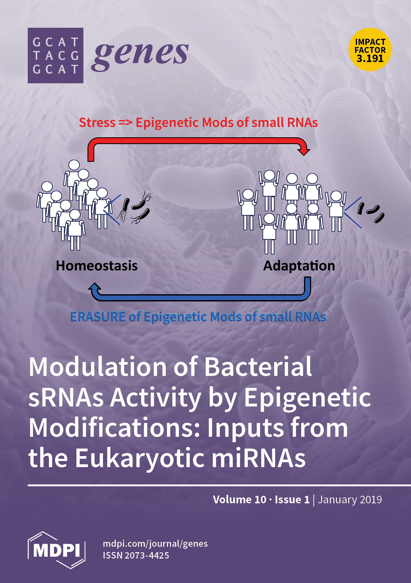 Shared Epigenetic Changes Underlie >> Genes January 2019 Browse Articles