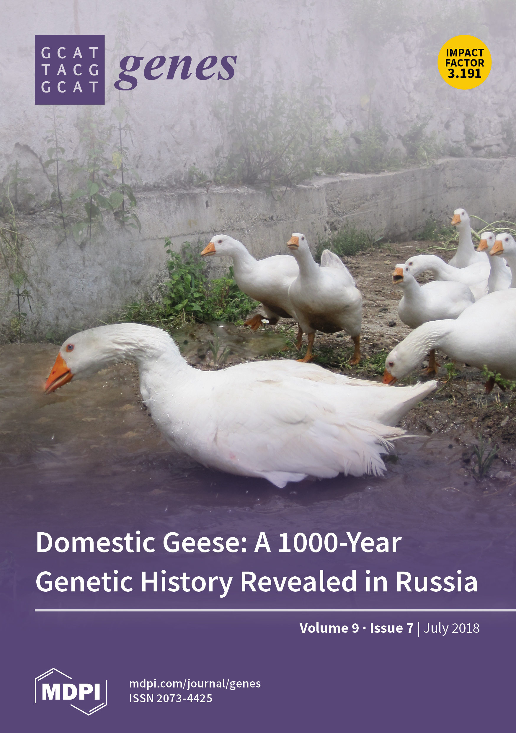 Genes | July 2018 - Browse Articles