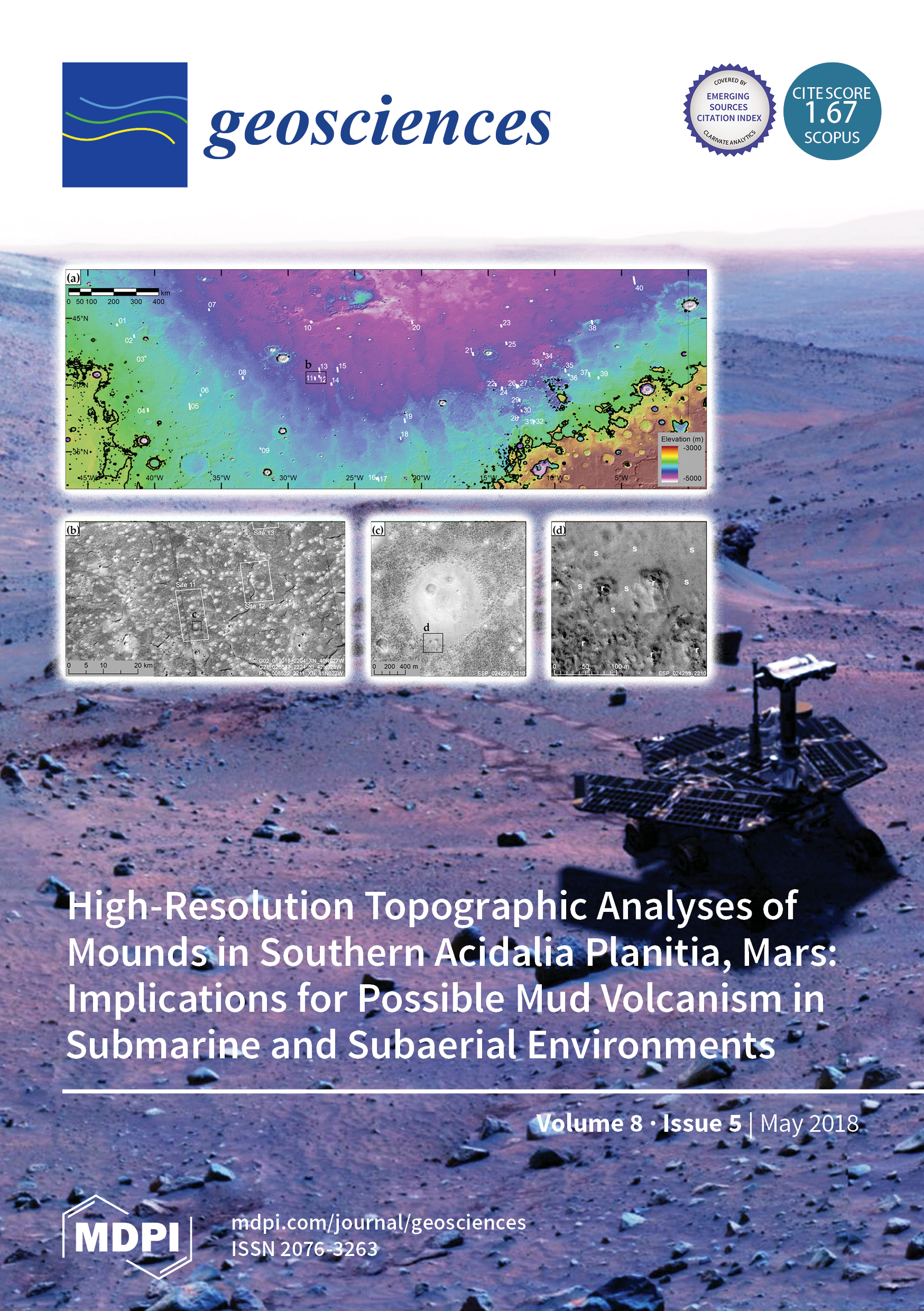 Geosciences   May 2018 - Browse Articles