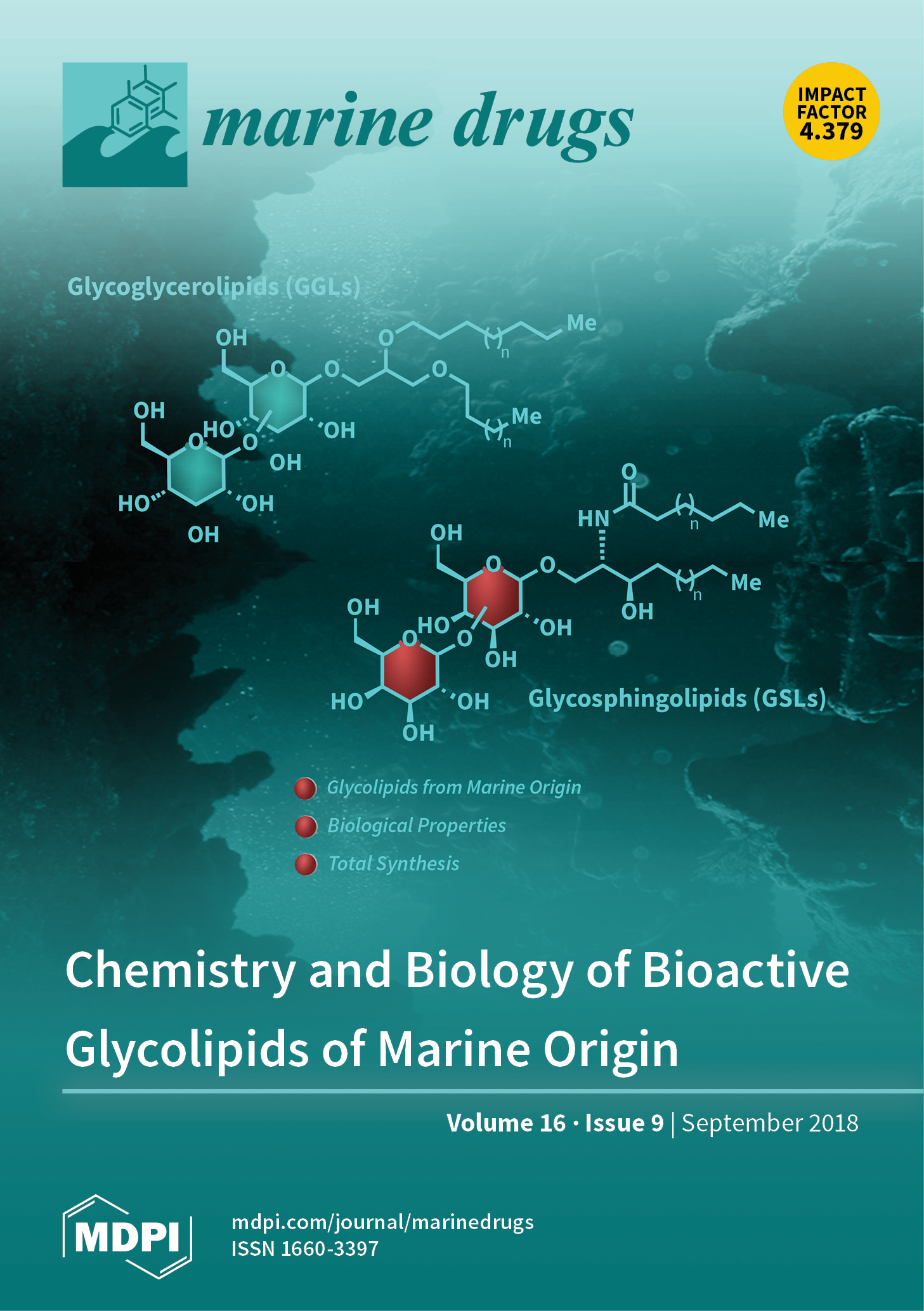 Marine Drugs | September 2018 - Browse Articles