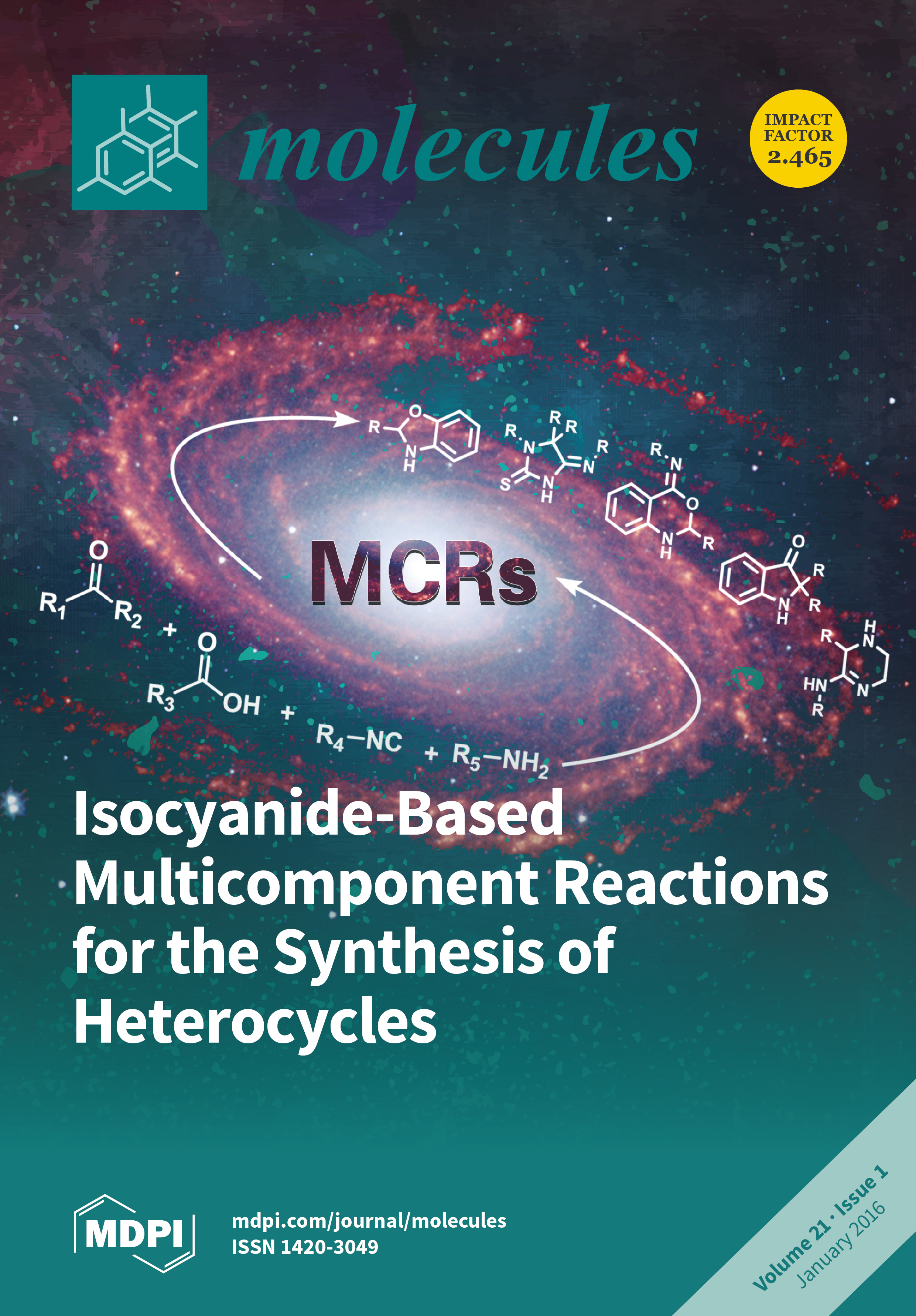 Molecules january 2016 browse articles cover story view baditri Choice Image