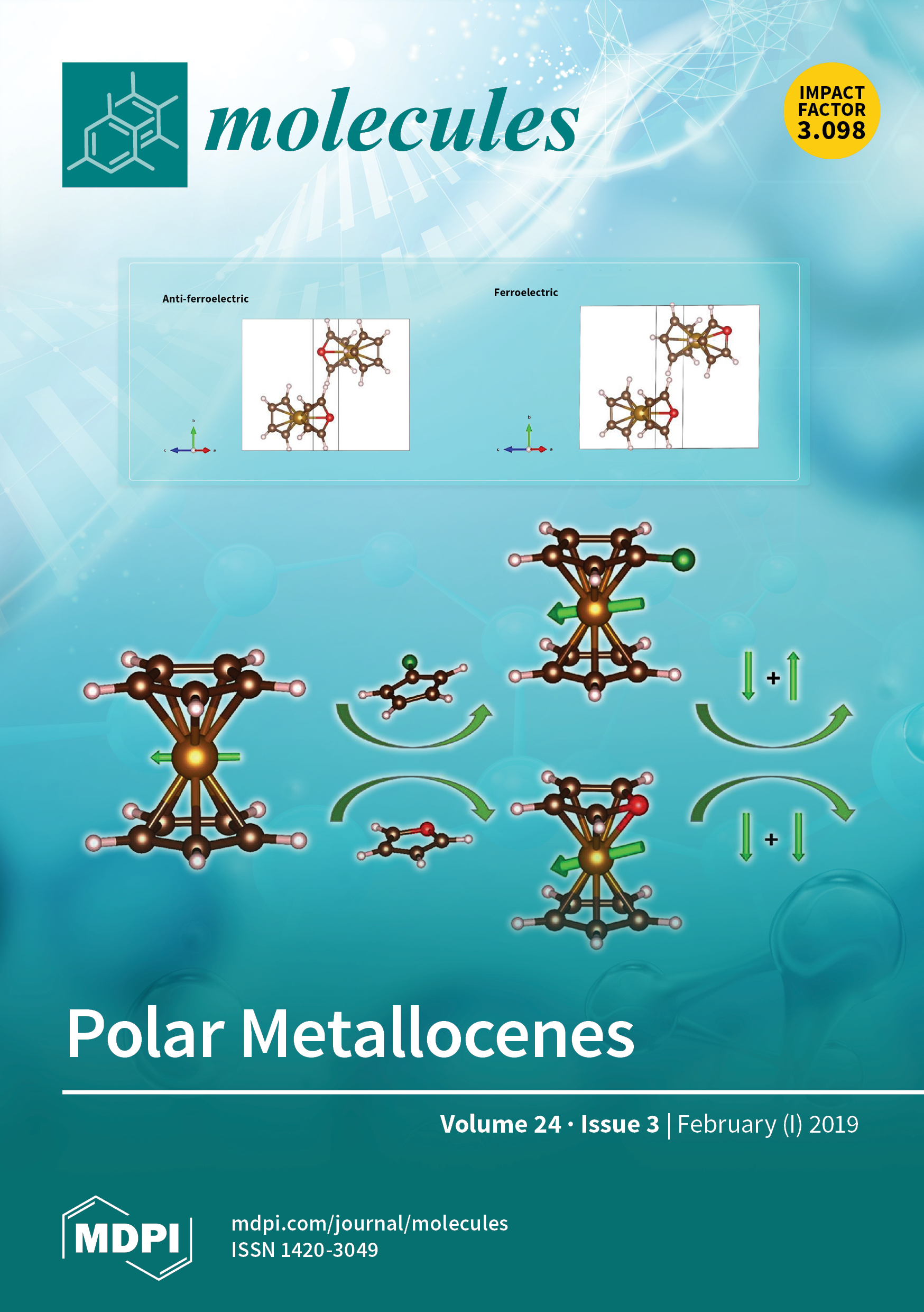 Molecules | February-1 2019 - Browse Articles