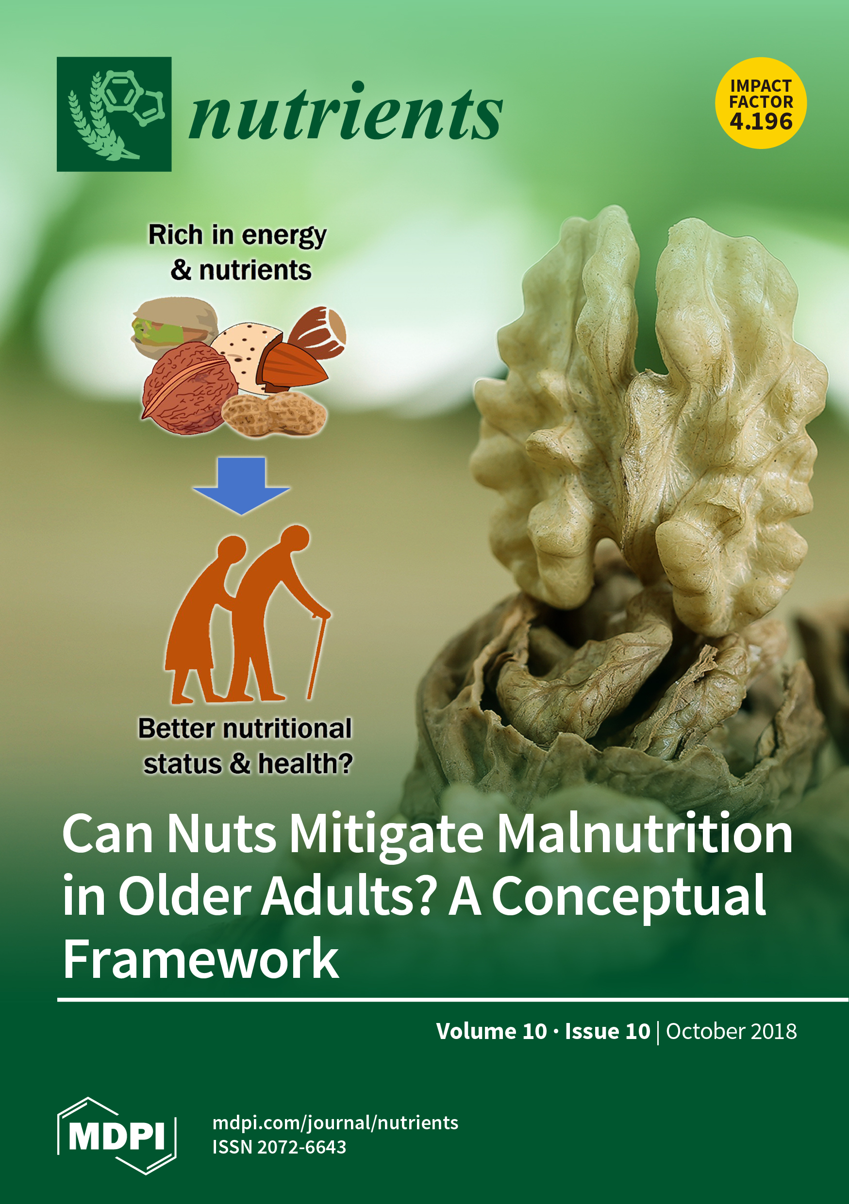 Nutrients   October 2018 - Browse Articles