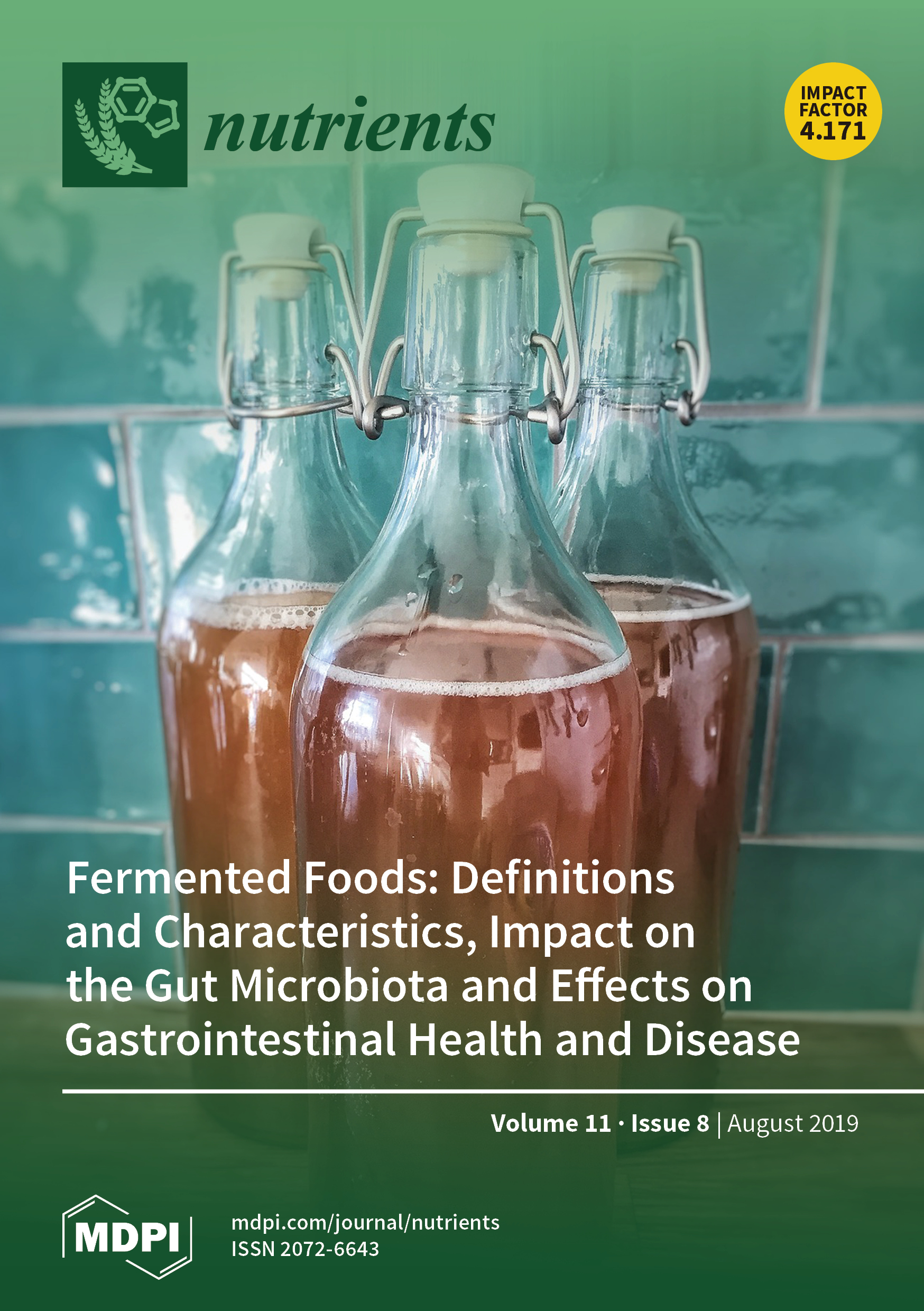 Nutrients   August 2019 - Browse Articles