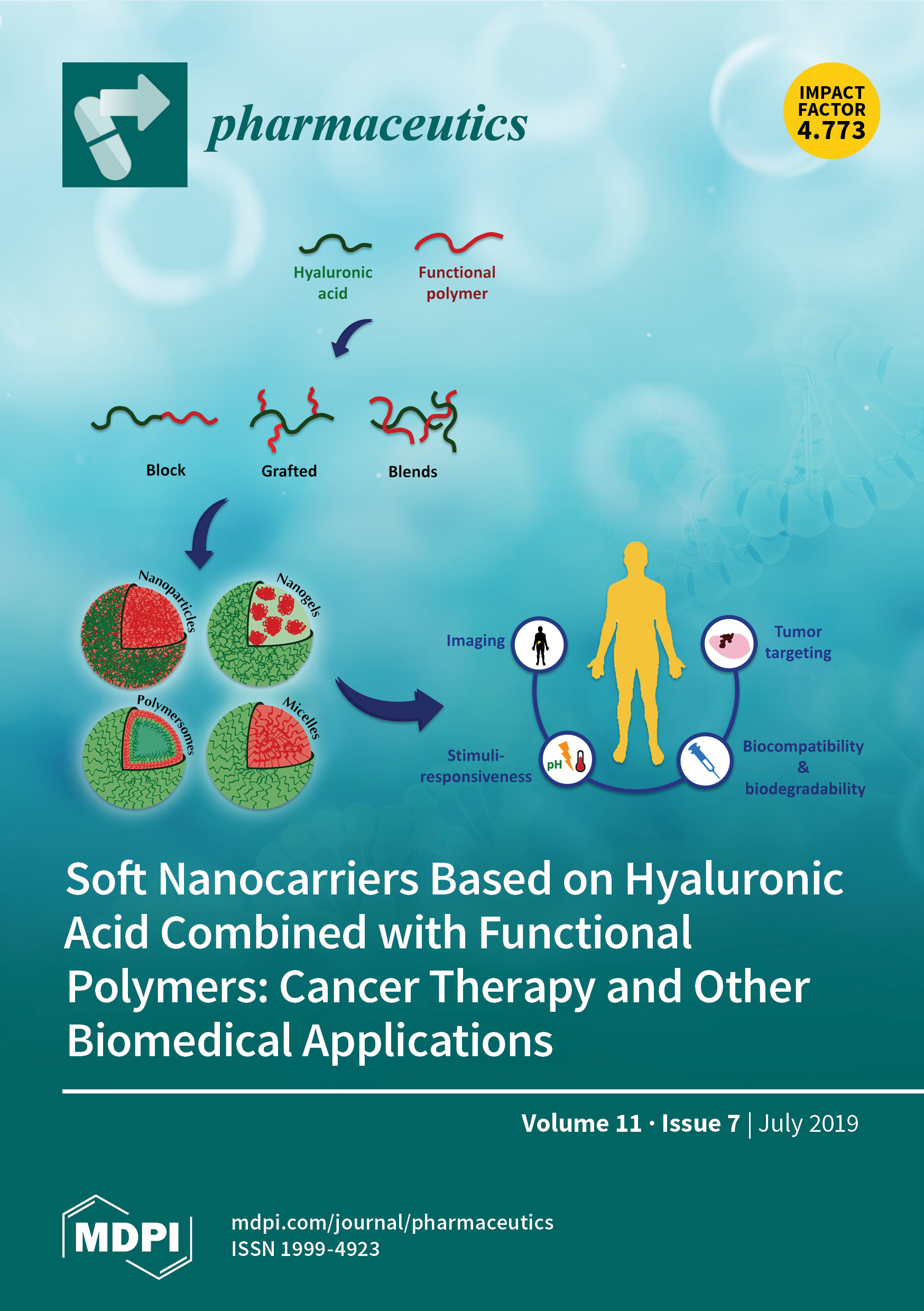 Pharmaceutics   July 2019 - Browse Articles