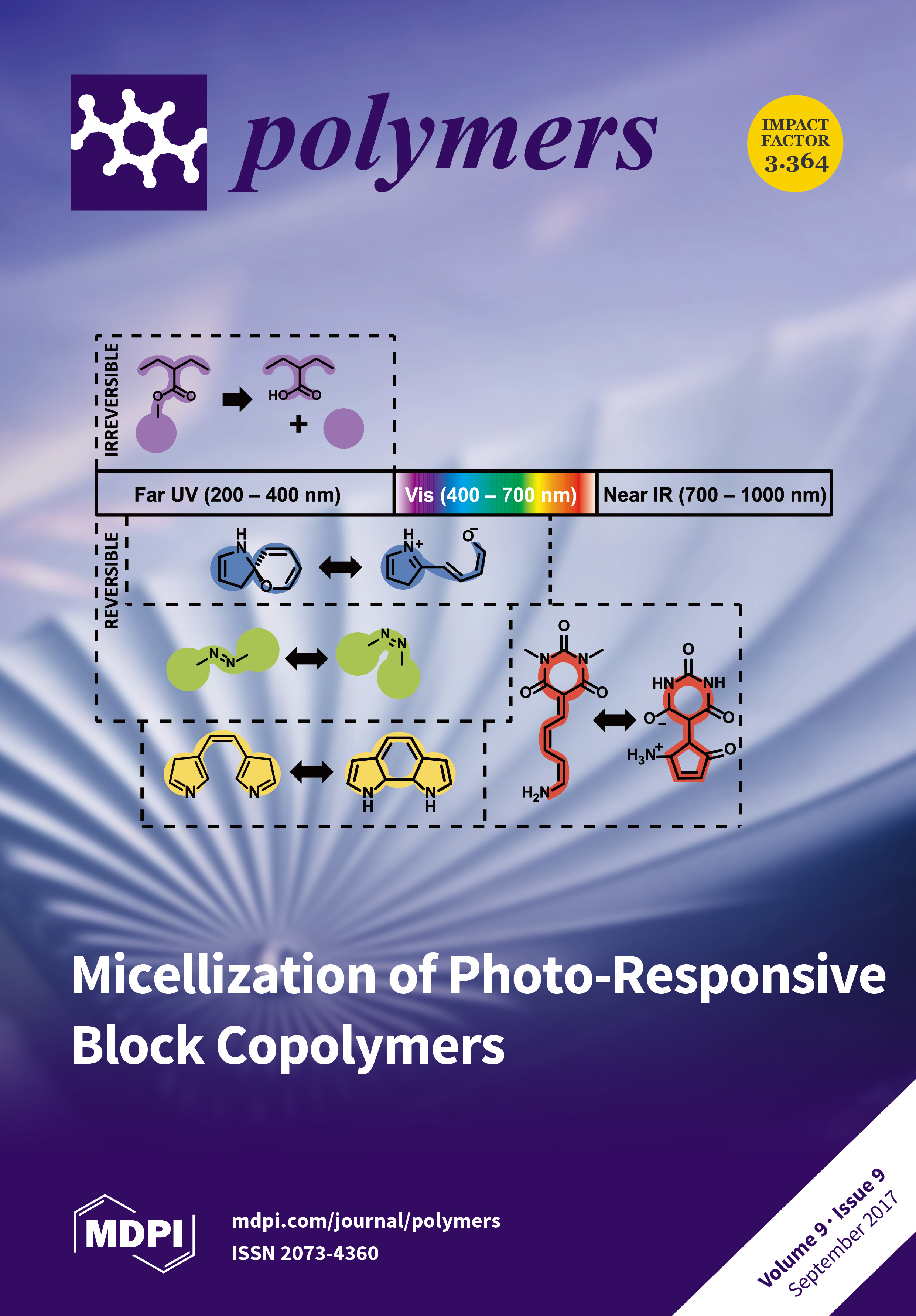 Polymers september 2017 browse articles a large variety of photo responsive molecules have been incorporated into block copolymers in order to form fandeluxe Choice Image