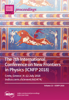 Issue 1 (ICNFP 2018) cover image