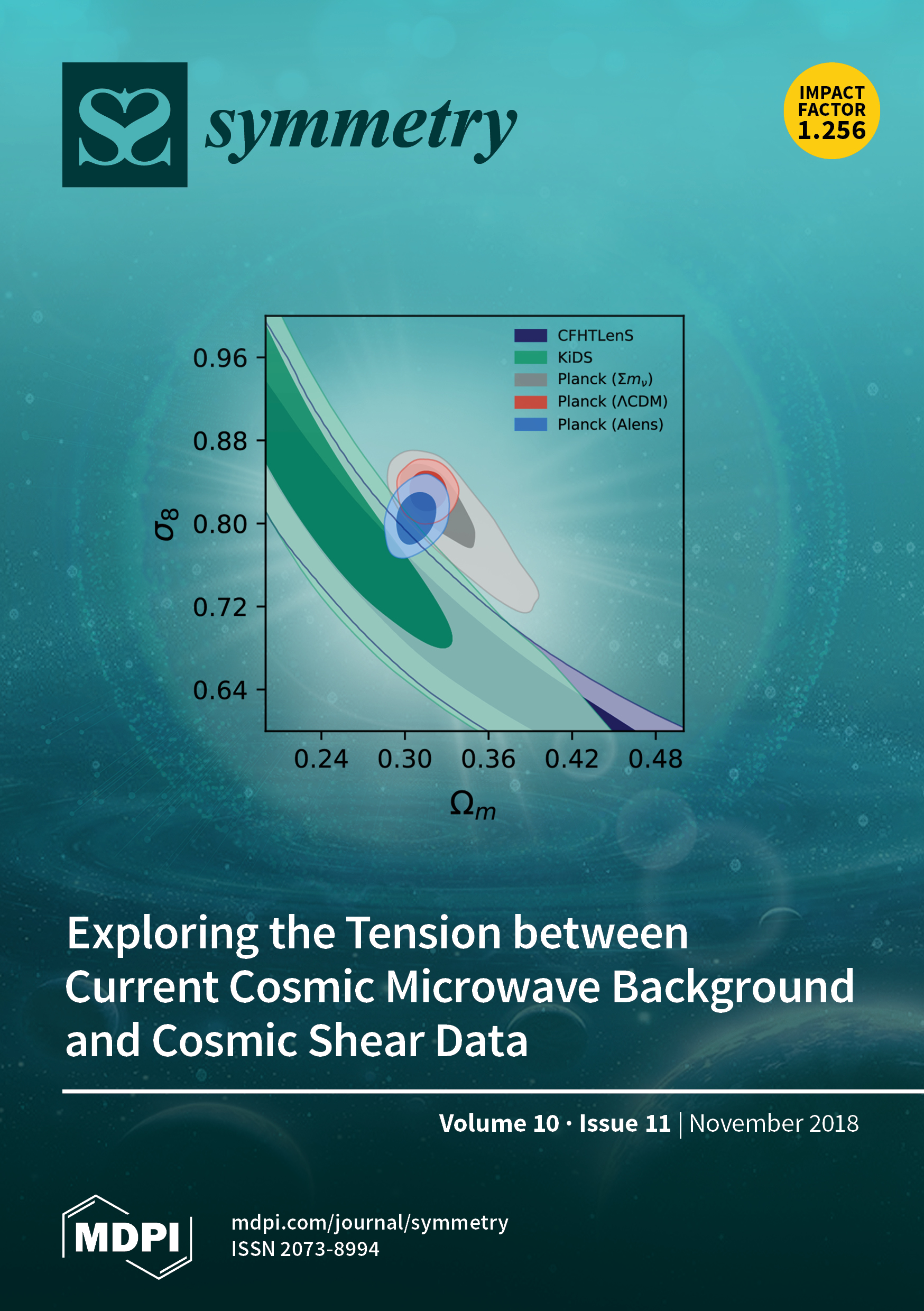 ad22d42dd03642 We found that the tension between CMB (Planck 2015) and cosmic shear data  (CFHTLenS and ...